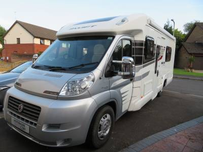 Swift Bolero 724fb 2011, 4 Berth, 4 Travelling seats, Rear Fixed bed, Rear Bathroom