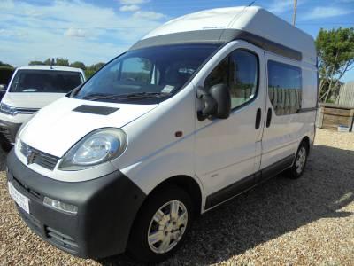 Vauxhall Vivaro camper Van