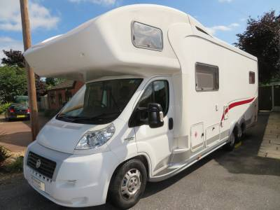 Euramobil 820HS 6 Berth 6 Belts Double Dinette Motorhome For Sale