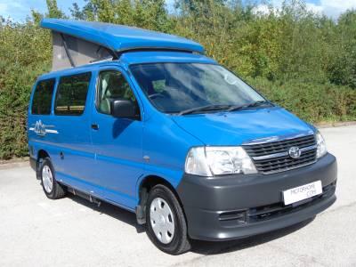 Toyota Hi Ace pop top campervan for sale