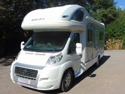 Swift Voyager 685 FB 4 berth rear fixed bed coachbuilt motorhome for sale