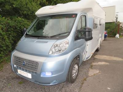 Hymer Rotec 662 TI 2007 4 Berth 4 Belts Fixed Bed Motorhome For Sale