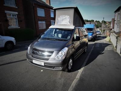 Hyundai I800 Wellhouse 2 Berth 5 Travel Seats Motorhome Camper Van For Sale