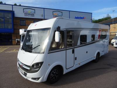 Burstner Lyseo Time 734G 2018 4 Berth Rear Fixed Bed Rear Garage Motorhome For Sale