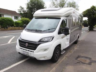 Hymer T668 SL 4 Berth, Fixed Single Beds,End Bathroom Low Profile