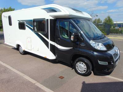 Bailey Approach 740SE 4 berth rear fixed bed motorhome for sale