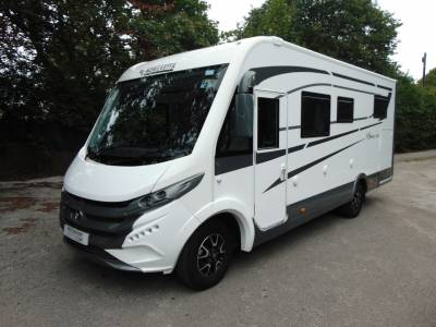 Mobilvetta K silver i56 4 berth A-class rear fixed bed motorhome for sale