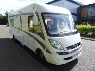 Hymer B668 Premium Line 2018 4 Berth End Washroom Fixed Bed Motorhome For Sale