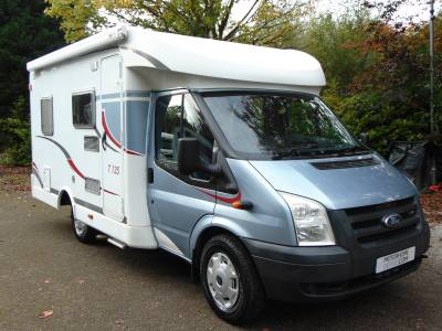 Carado T135 3 berth rear fixed bed low profile motorhome for sale