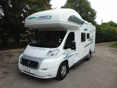 Chausson Welcome 17 5 berth fixed rear bunks coachbuilt motorhome for sale