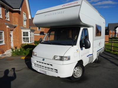 Dethleffs Advantage Globetrotter 4 berth family motorhome