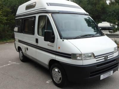 Autosleeper Harmony 2 berth campervan for sale