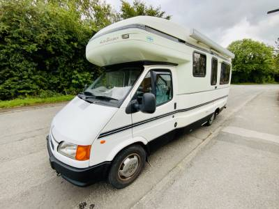 Auto-Sleepers Legend 4 Berth Rear Lounge Motorhome For Sale