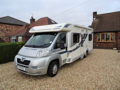 Bailey Approach 740 SE 4 Berth Rear Fixed Bed Motorhome Camper Van For Sale