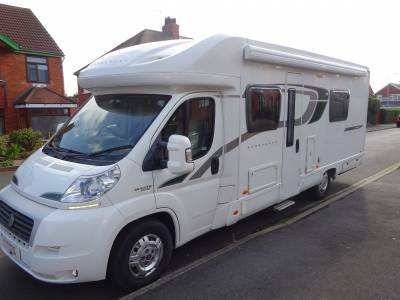 Bessacarr E444 4 Berth End Wash Room Fixed Bed Motorhome for Sale