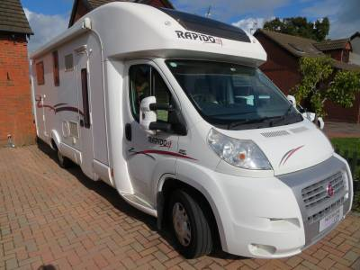 Rapido 7066df, 2009, 3 Berth, 4 Traveling Seats, Large Garage