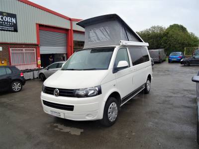 Volkswagen T5 4 Berth 5 Travel Seats Motorhome Camper Van For Sale