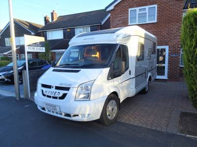 Hymer 552 Silverline 3 Berth 4 Travel Seats Rear Fixed Bed Motorhome Camper Van For Sale