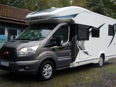 2018 Chausson Welcome 718XLB luxury island bed motorhome