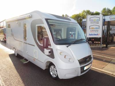 Adria Vision I707SL A-Class 4 Berth, Rear Fixed singles motorhome for sale