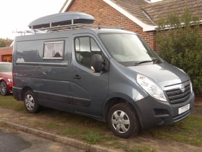 Camper Van Vauxhall Movano
