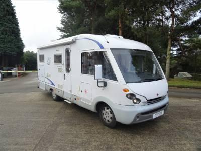 Burstner Elegance i690 4 Berth 4 Travel Seats Rear Fixed Bed Motorhome Camper Van For Sale