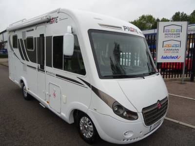 Pilote G650 Sensation 2017 4 Berth Fixed Island Bed Rear Garage Motorhome For Sale