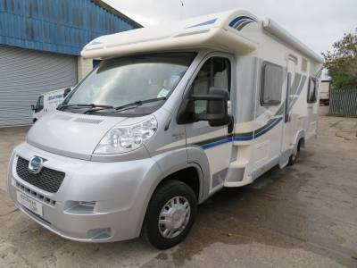 Bailey Approach SE 740, 2013, 4100 Miles, 4 Berth, 2 Belted Seats