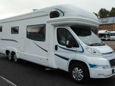 Autotrail Chieftain 6 berth rear fixed bed motorhome for sale