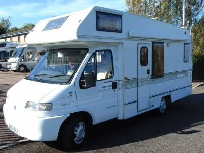 Autotrail Cheyenne 584 4 berth End kitchen, centre dinette motorhome for sale