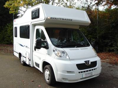 Compass Avantgarde 100 4 berth 4 seatbelt coachbuilt motorhome for sale