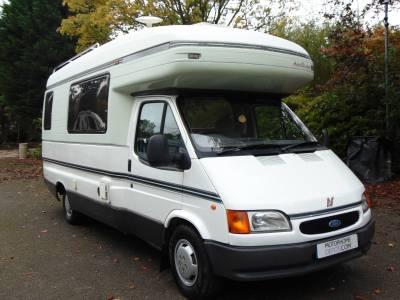 Autosleeper Amethyst 2 berth 4 seatbelt coachbuilt motorhome for sale
