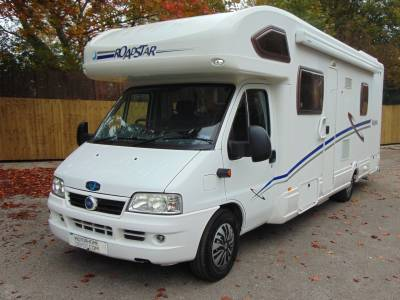 Lunar Roadstar 786 6 berth rear fixed bed coachbuilt motorhome for sale