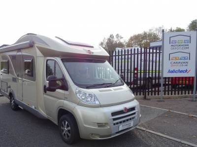 Burstner Ixeo IT 664 Low profile 4 berth Rear fixed bed motorhome for sale