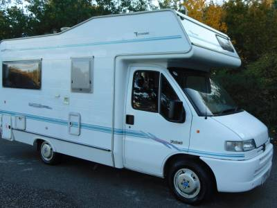 Autohomes Wayfinder Equipe 4 berth compact coachbuilt motorhome for sale