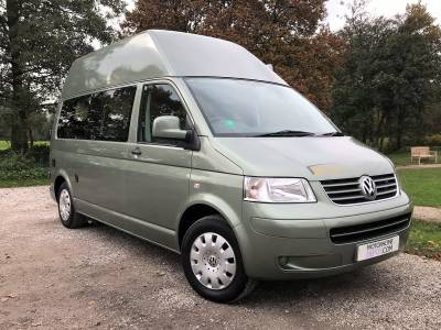 IMMACULATE 2010 VW T5 Danbury Royal Conversion from new - Automatic - High Top - Long wheel base - with washroom
