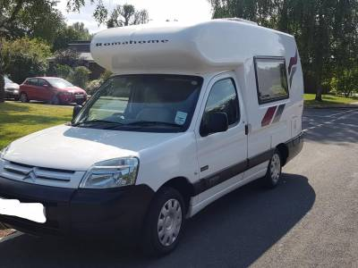 2007 Romahone Exclusive 2 berth 3 seat belt camper for sale 1.6 HDi