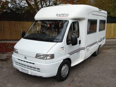 Rapido Le Randonneur 740F 4 berth fixed rear bed coachbuilt motorhome for sale