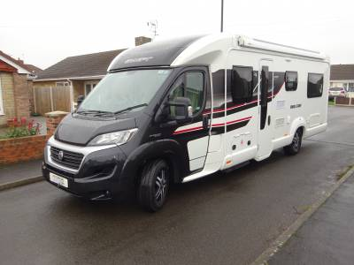 Swift Bolero 744 PR 2016 4 Berth Rear Lounge Motorhome For Sale