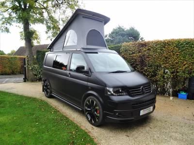 Volkswagen T5 Sportline 174 4 Berth 5 Travel Seats Motorhome Camper Van For Sale