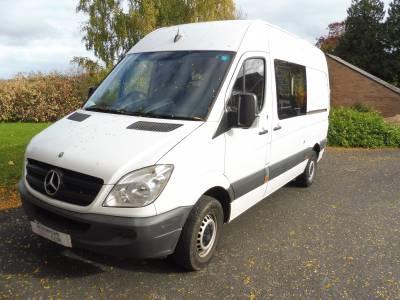 Mercedes Sprinter 2 berth campervan for sale