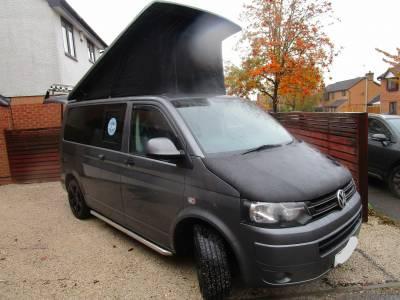 VW T5 Transporter Volkswagen 4 Berth Pop Top Camper Van Conversion 2012 for Sale