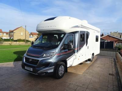Autotrail Tracker RB 6 Berth 4 Travel Seats Rear Island Bed Motorhome Camper Van For Sale