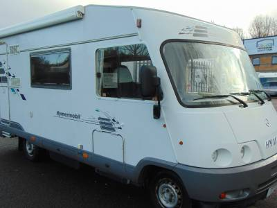 Hymer Starline 640 A-class 5 berth Motorhome for sale
