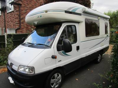 AUTO-SLEEPERES EXECUTIVE 2 BERTH MOTORHOME CAMPER FOR SALE