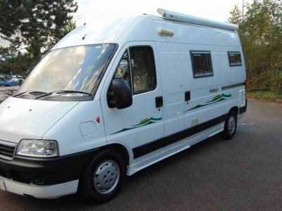 Trigano Tribute 2 berth campervan motorhome for sale