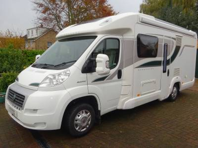 Bessacarr E540 2012 2 Berth End wash Room Low Mileage Motorhome For Sale