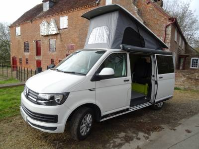 Volkswagen T6 Pop Top Camper Van