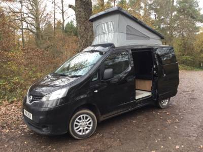 NISSAN NV200 BAVARIA 4 BERTH CAMPER