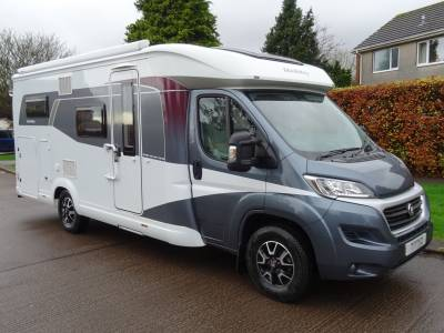 Hobby Optima De-luxe T65 GE- 2016 - 3/4 Berth - Fixed rear bed - Motorhome for sale